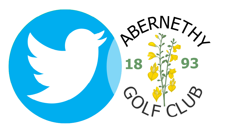 Golf Club and Twitter logos